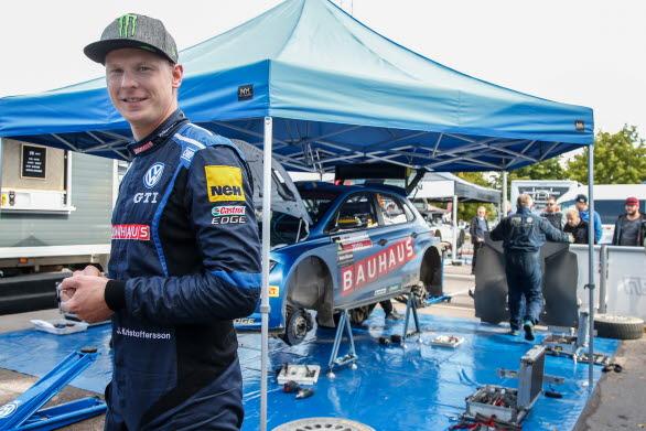 East Sweden Rally visade sig bli en rejäl utmaning för Johan Kristoffersson.
