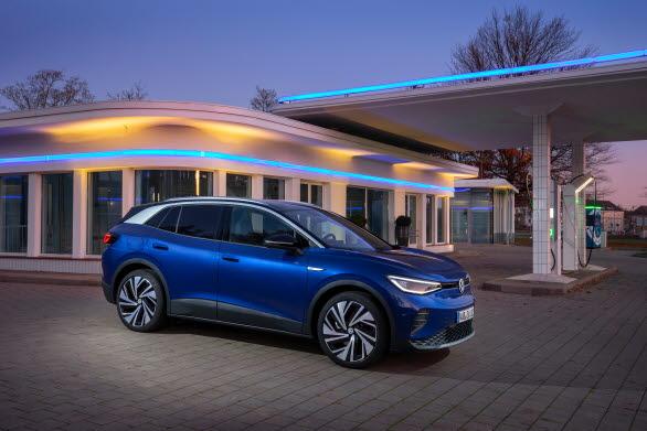 ID.4 är Volkswagens första helt eldrivna SUV.