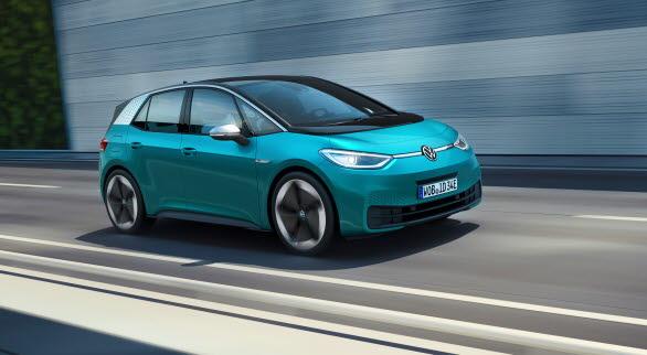 Volkswagens nya elbil ID.3.