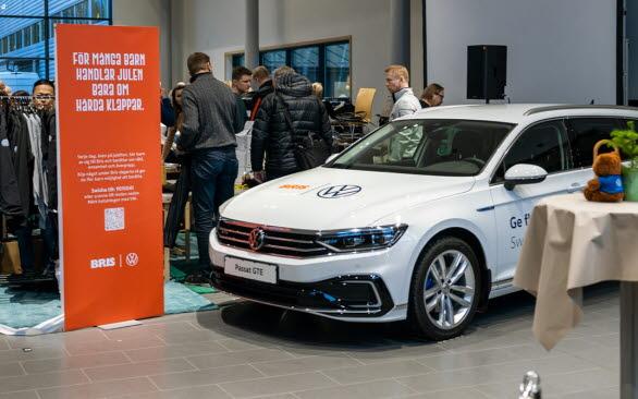 Volkswagen personbilar stödjer BRIS