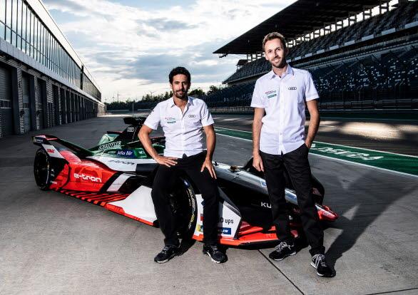 Lucas di Grassi och René Rast kör Formel E för Audi Sport ABT Schaeffler 2021