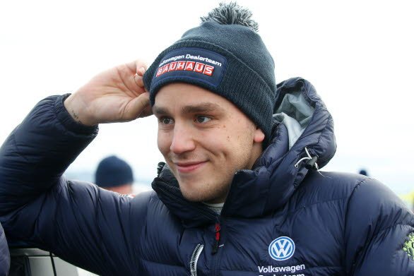 Ole Christian Veiby, en nöjd VM-ledare som kör även nästa VM-deltävling i WRC 2 för det Arvika-baserade teamet.