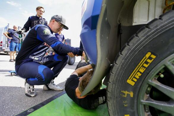 Johan Kristoffersson hoppas på en rejäl genomkörare i Rally Finland.