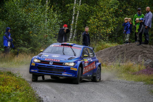 Johan Kristoffersson tänker bjuda publiken i East Sweden Rally på bra underhållning under helgen.