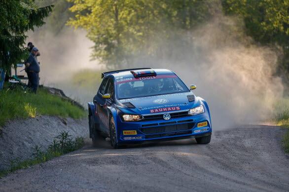 Blir det SM-guld nummer två för Johan när rally-SM-sprinten avgörs i Malmö?