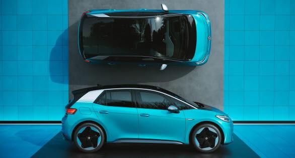 Försäljningen av Volkswagen nya elbil ID.3 startar den 20 juli.