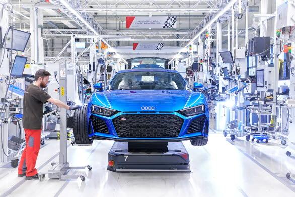Montering Audi R8