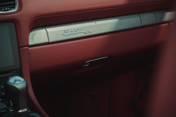 Interiören på nya Porsche Boxster 25 years