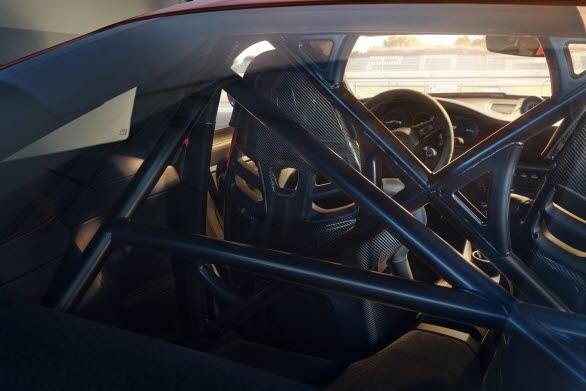 Bur i höghållfasthetsstål i Club Sport-paketet i nya Porsche 911 GT3.