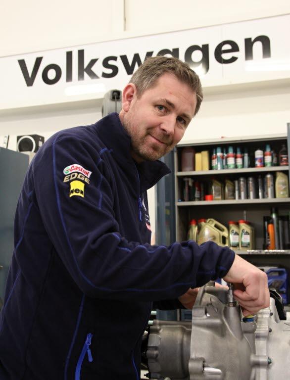 Teamets tekniske koordinator, Kai Roger Waaler, har haft fullt upp inför Bergslagsrallyt.