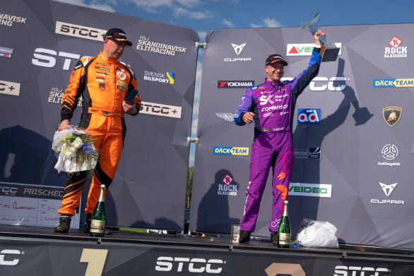 Efter tre otroligt spännande race tog Robert Dahlgren hem segern med god marginal