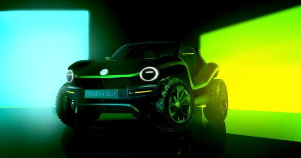 Volkswagen ID. BUGGY vid Geneve-salongen 2019