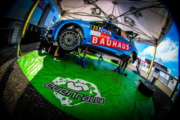 Kommer Ole Christian Veiby att vara kvar i WRC 2-topp efter Tour de Corse? Volkswagen Dealerteam BAUHAUS är redo för den utmaningen.