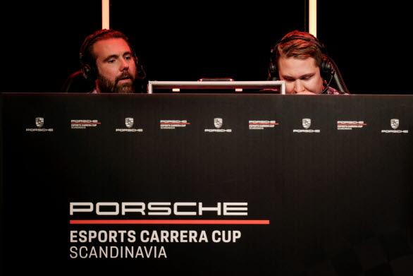 Finalen i Porsche Esports Carrera Cup Scandinavia kommenterades av Robin Nilsson och racingexperten Björn Wirdheim. – Ett event i absolut toppklass, säger Robin Nilsson. Förarna bjöd publiken på stor underhållning!
