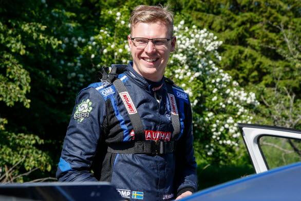 Kristoffersson ser med glädje fram emot sin start i Rally Finland.