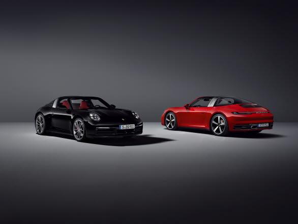 Nya Porsche 911 Targa 4 och 911 Targa 4S
