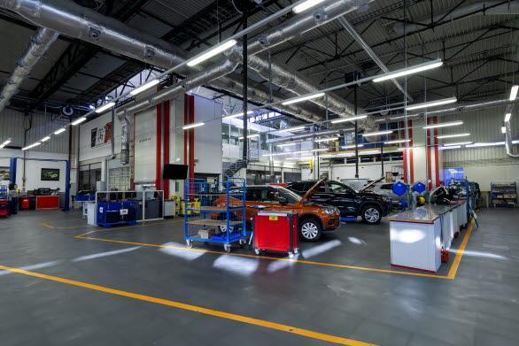 SEATs testcenter har kapacitet att utföra 14.300 motortester per år, hela vägen från utvecklingsfas till typgodkännande.