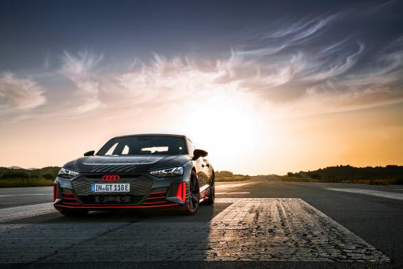 Audi RS e-tron GT - första eldrivna RS-modellen från Audi Sport GmbH