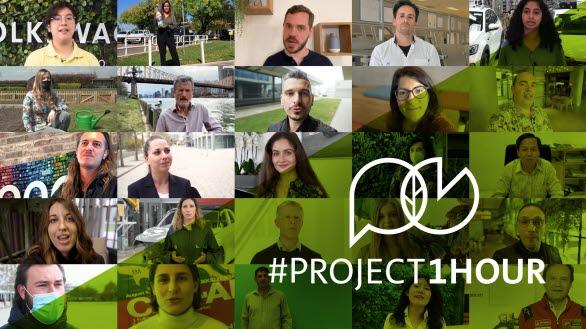 Idag samlas alla anställda i hela VW-koncernen under #Project1Hour för att diskutera hur var och en kan bidra till att minska klimatpåverkan.