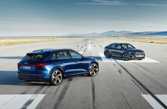 Säljstart för de första eldrivna S-modellerna  - Audi e-tron S och e-tron S Sportback
