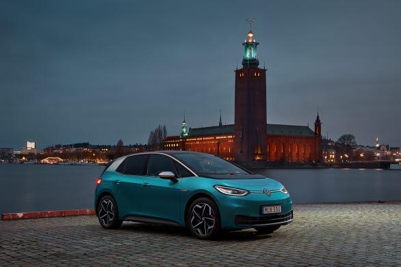 ID.3 blev Sveriges mest sålda elbil under 2020.