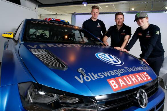 Johan Kristoffersson, Stig Rune Skjaermoen och Oliver Solberg.
