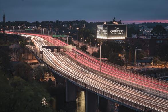 Audi-kampanjen på Essingeleden