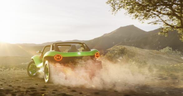 Med full acceleration kan ID. BUGGY nå 100 km/h-strecket på raska 7,2 sekunder.