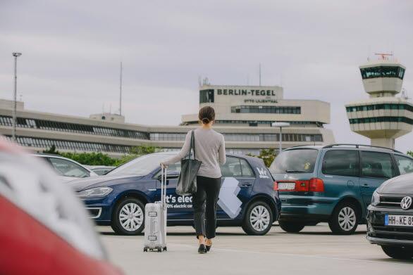 Volkswagen ger sig in på den växande bilpoolsmarknaden.