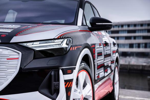 Eldrivna Audi Q4 e-tron