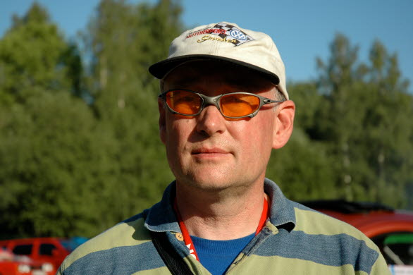 Johan Grape, grundaren av Bug Run. Johan nås hela helgen på 070-513 23 99.