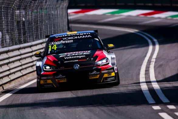 Johan Kristoffersson gjorde ett gediget jobb i Portugal och plockade poäng i alla racen.