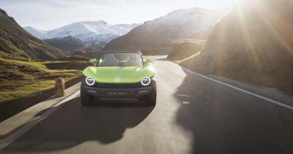 Elmotorn i ID. BUGGY är 204 hk stark. Räckvidden är cirka 250 km (WLTP).