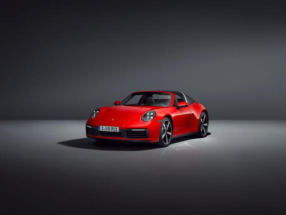 Nya Porsche 911 Targa 4