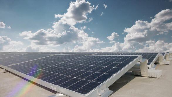 Klimatneutral Audi-produktion med Europas största solcellstak och geovärme