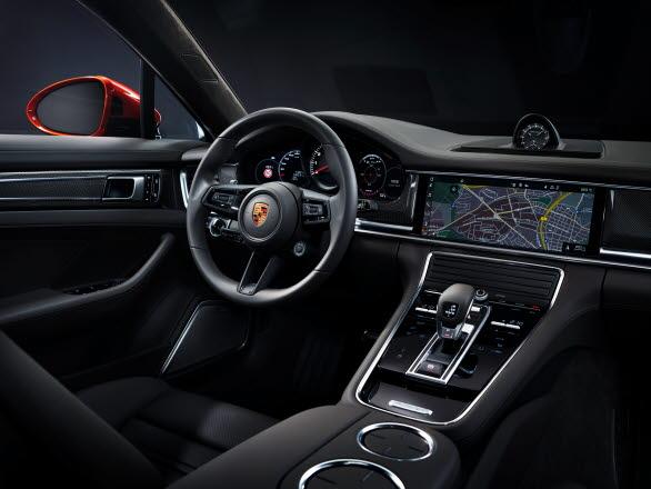 Interiören i nya Porsche Panamera