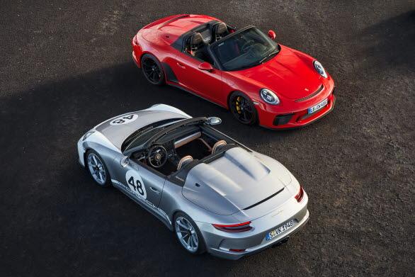 911 Speedster och 911 Speedster, Heritage Design Package