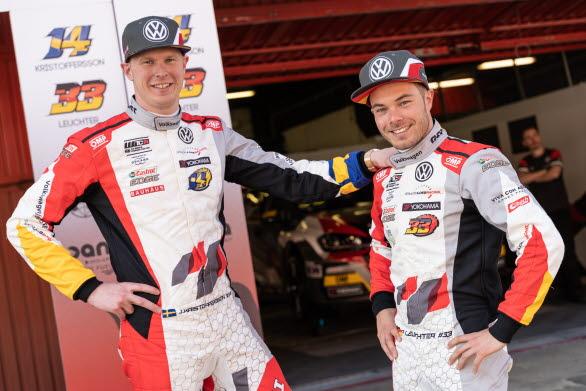 Johan Kristoffersson och Benjamin Leuchter är debutanter i WTCR.