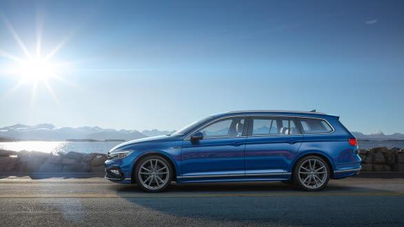 Volkswagen har finslipat designen för Passat.