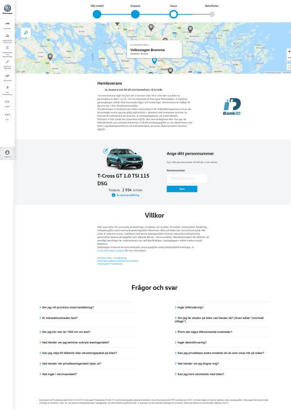 Med kostnadsfri hemleverans blir det ännu enklare att köpa en ny Volkswagen eller SEAT.