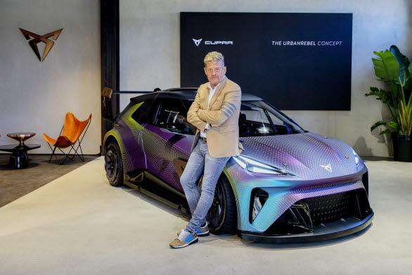 Den eldrivna stadsbilen är en strategisk pelare för företaget, säger Wayne Griffiths. SEAT S.A. tillsammans med Volkswagen-gruppen spelar en nyckelroll i utvecklingen av projektet.