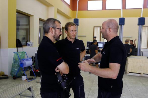 Arnau Niubo, Mattias Ekström, Andreas Roos