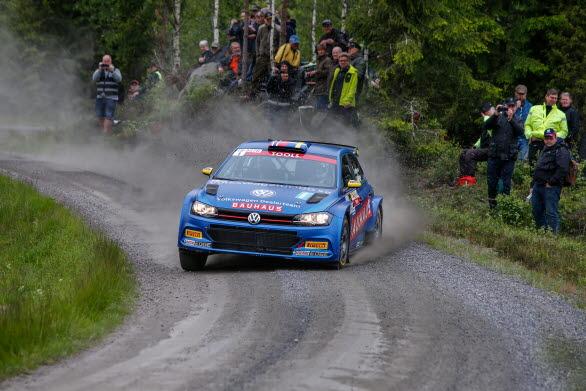 South Swedish Rally lockade storpublik. Många ville se rallycrossvärldsmästaren Johan Kristoffersson. Foto: Tony Welam.
