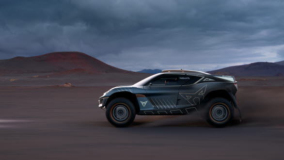 Racing-serien Extreme E handlar om att öka miljömedvetenheten och CUPRA Tavascan Extreme E Concept flyttar på gränserna även här, vilket gör bilen ännu mer hållbar.
