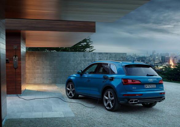 Laddhybriden Audi Q5 55 TFSI e quattro