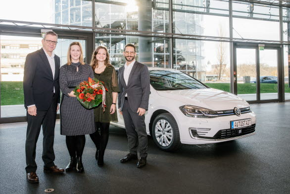 Volkswagens 250 000:e elektrifierade bil levereras.