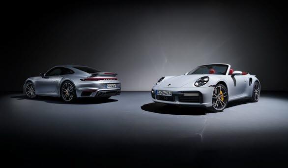 Nya Porsche 911 Turbo S och 911 Turbo S Cabriolet