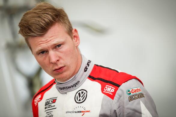 En okej helg. Så summerade Johan Kristoffersson WTCR-tävlingen i Portugal, där han ändå plockade poäng i alla racen.