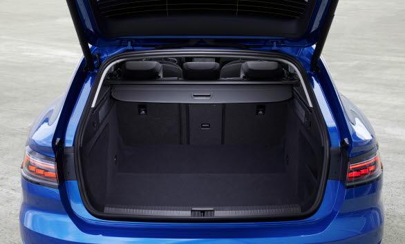 Arteon Shooting Brake ger ett bagageutrymme på 565 liter.