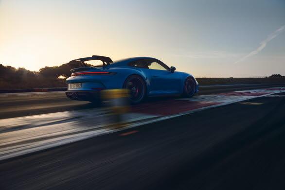Porsche 911 GT3 - med racingteknik från Porsche Motorsport.